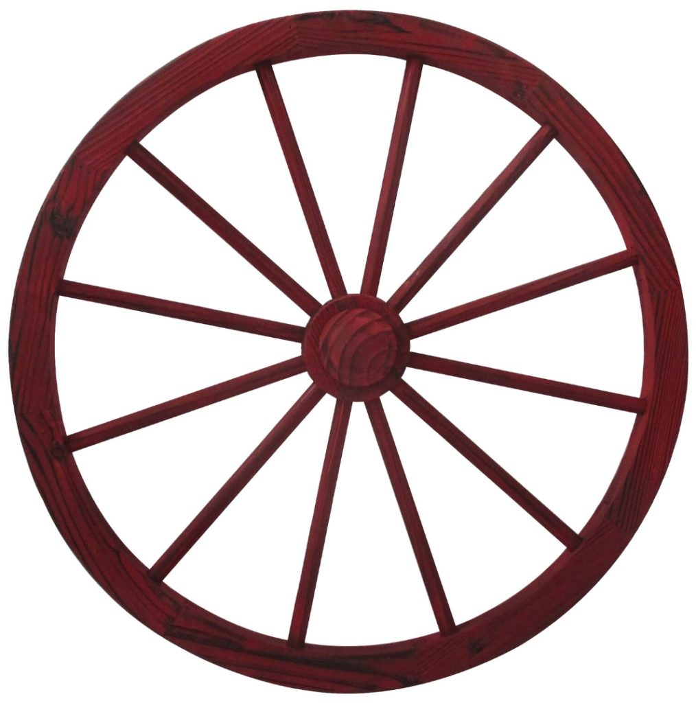 30 Painter Wagon Wheel Red Kc By Design Kcbydesign